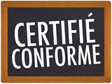 certifié conforme poster