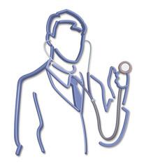 3D - Doctor - Stethoscope