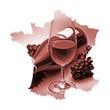 Les vins rouges de France