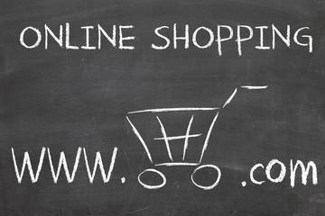 online shoping blackboard