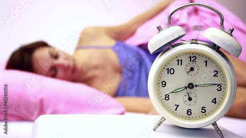 Awakening with alarm clock