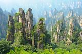 Zhangjiajie natural scenery in China