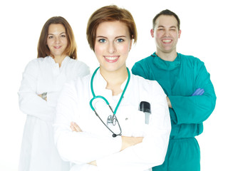 Team of doctors, surgical team