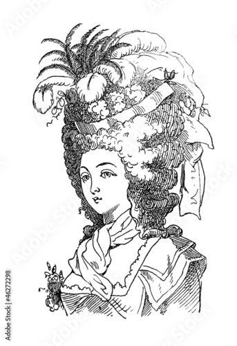 Hair Fashion 2 - 18th century