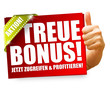 Treuebonus! Button, Icon