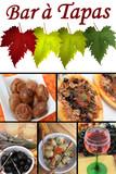Bar à Tapas : Pizza champignon Pétoncles ..... poster
