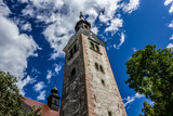 Church tower of Pilgrimage Church of the Assumption of Mary, Ble poster
