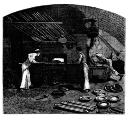 Bakery - Boulangerie - Beckerei - 19th century