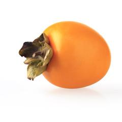 a ripe persimmon