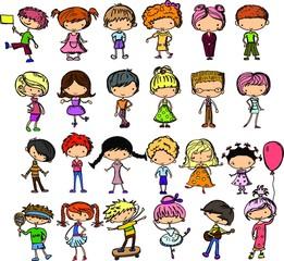 Рисунки карикатуры фешенебельных детей