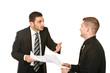 Diskussion unter Mitarbeitern
