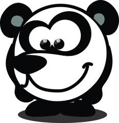Вектор панды, карикатуры