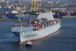 Containerschiff, Hamburger Hafen, Import, Export, Außenhandel
