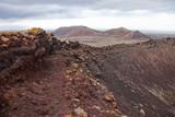 Northern Fuerteventura, overcast day poster