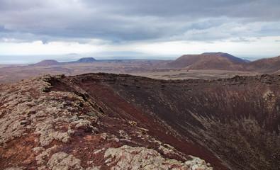 Northern Fuerteventura, overcast day