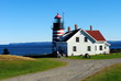 West Quoddy Lighthouse, Lubec ME, USA