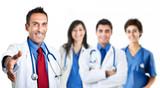 Doctor handshake - 46285411