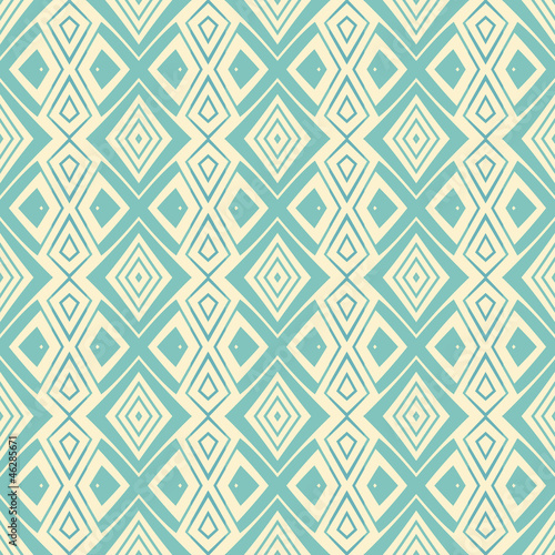 ethnic modern geometric seamless pattern ornament