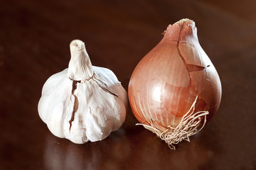onion and gralic