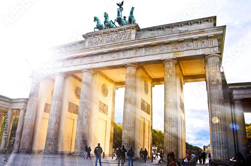 Leinwanddruck Bild Brandenburger Tor Berlin- weitere Berlinbilder im Portfolio