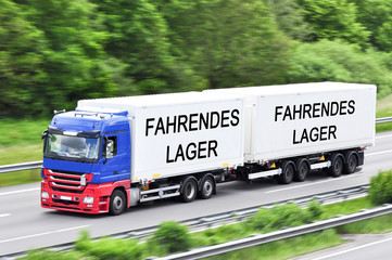 fahrendes Lager