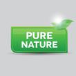Pure nature button