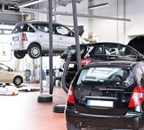 Autowerkstatt - automotive service