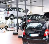 Fototapety Autowerkstatt - automotive service