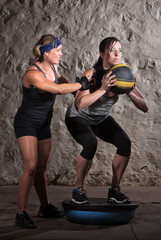 Boot Camp Workout Balance Training