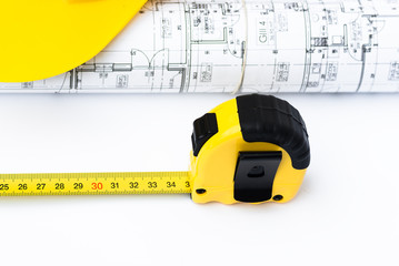 architect tools and blueprints