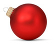 red christmas ball - 46290660