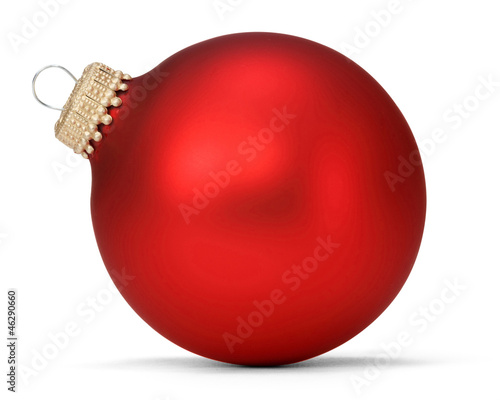 red christmas ball - 46290660