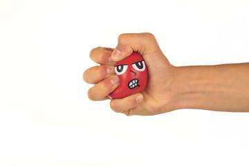 Hand mit Wutball 1.11.12