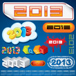 2013 Year Inscriptions Design