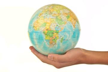 Globus in der Hand 1.1.12