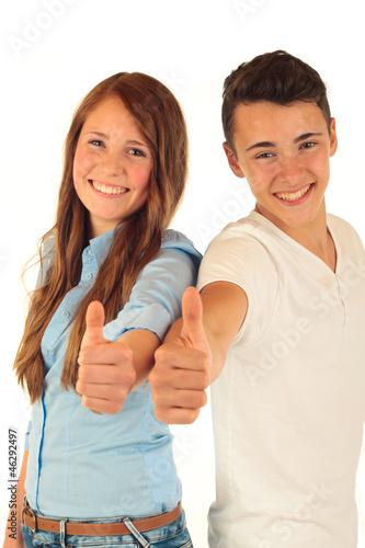 2 Teens Daumen 1.11.12 - 46292497
