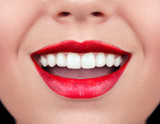 Healthy woman teeth and smile. - 46293610