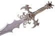 Fantasy handle sword