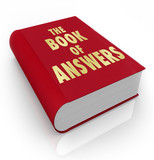 Book of Answers Wisdom Advice Help Manual