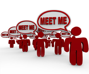 Meet Me New People to Get to Know Networking Interview