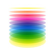 Rainbow cylinder