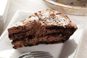 Rich Homemade Chocolate Pie