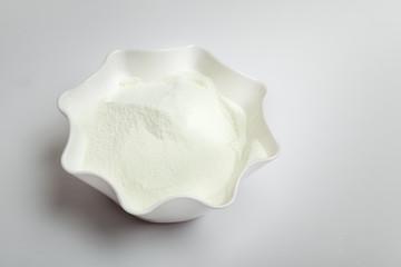 Milk powder in bowl