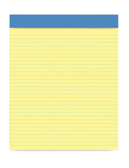 Yellow Legal Notepad