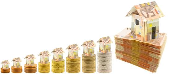 concept coût acquisition immobilière