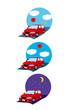 自動車,ドライブ,旅行,朝,昼,夜,移動,上昇,下降