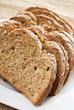 Sliced Irish wheaten bread