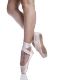 Fototapety gambe di ballerina