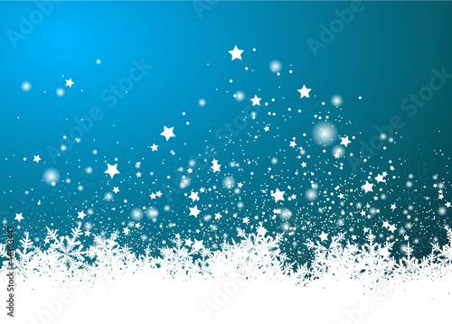 Hintergrund, Blau, Schnee, Eis, Kristalle, Vorlage, Winter, 2D