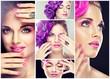 Fototapete Makeup - Nageln - Frau